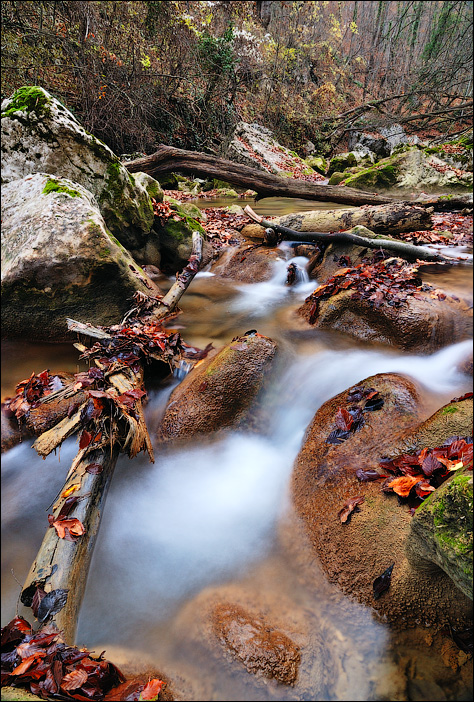 Большой каньон Крыма (БКК). Река Аузун Узень