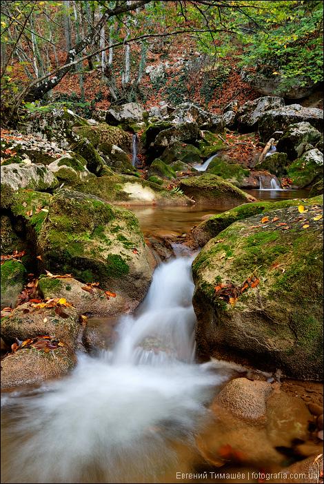 Горная речка в Большом каньоне