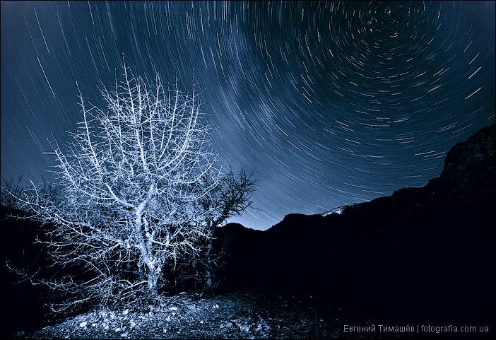 Ночь у подножия