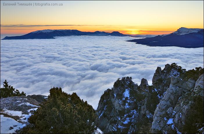 Над облаками Демерджи