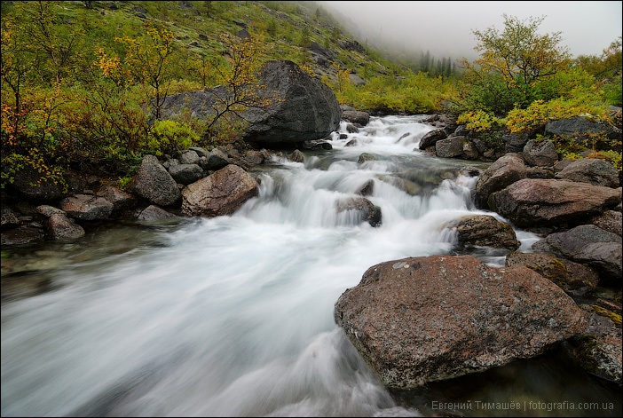 Пороги реки Часнайок