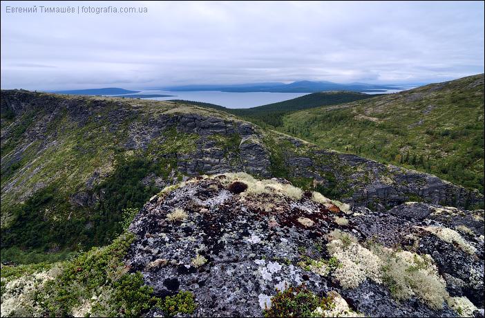 Вид на озеро Большая Имандра