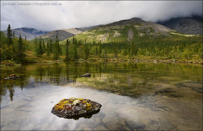 Озеро в долине реки Кунийок
