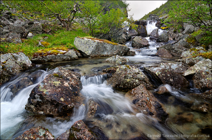 Река в ущелье Аку-Аку