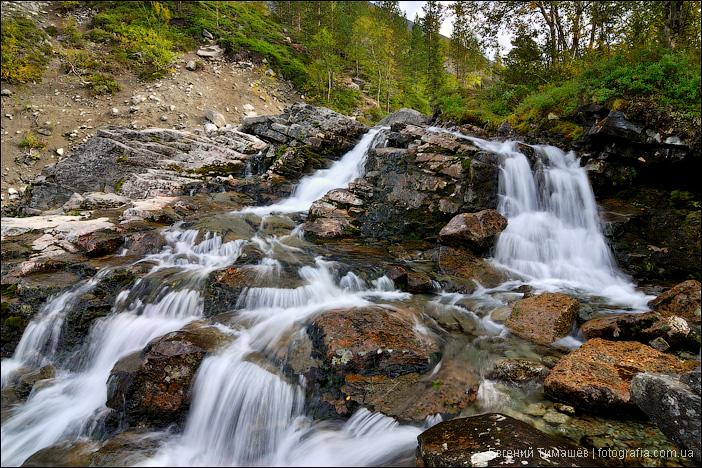 Пороги реки Рисйок