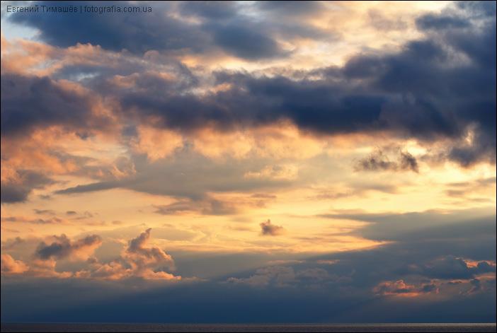 Новосветское небо