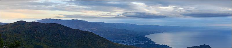 Панорама. Вид с Парагильмена
