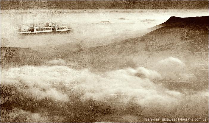 Корабль в небе