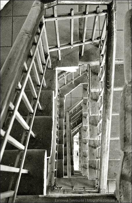 Лестница колокольни Софийского собора