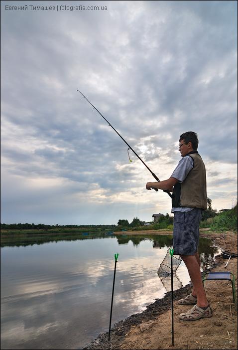 Рыбак на восходе