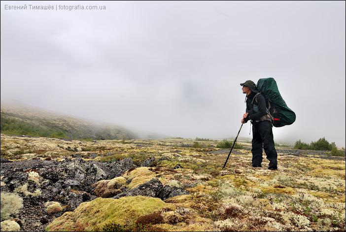 На плато в Хибинах