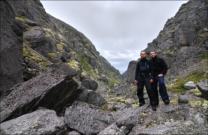 Я и Вова в Хибинах