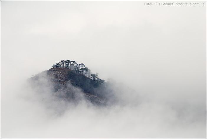 Остров в облаках