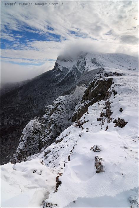 Снежный Чатыр-Даг