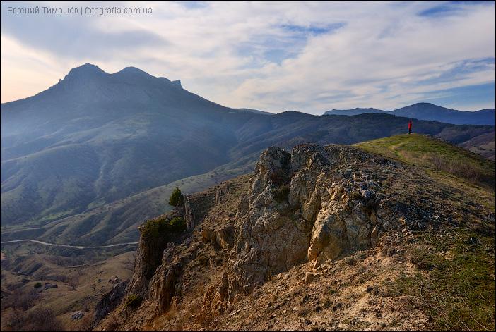 Крымские холмы близ Курортного