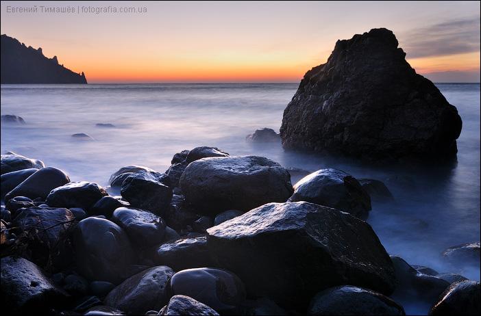 Камни в море, Крым