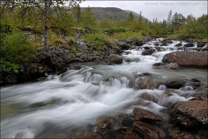 Река Часнайок, Хибины