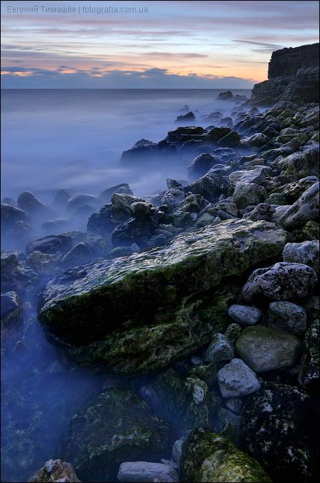 Черное море, Крым, Казачья бухта