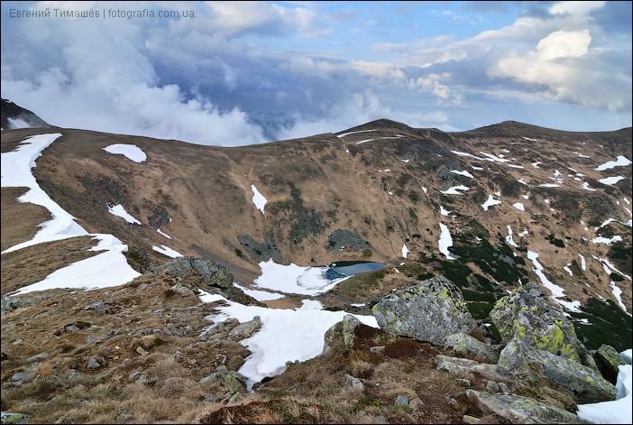 Озеро Бербенескул, Карпаты
