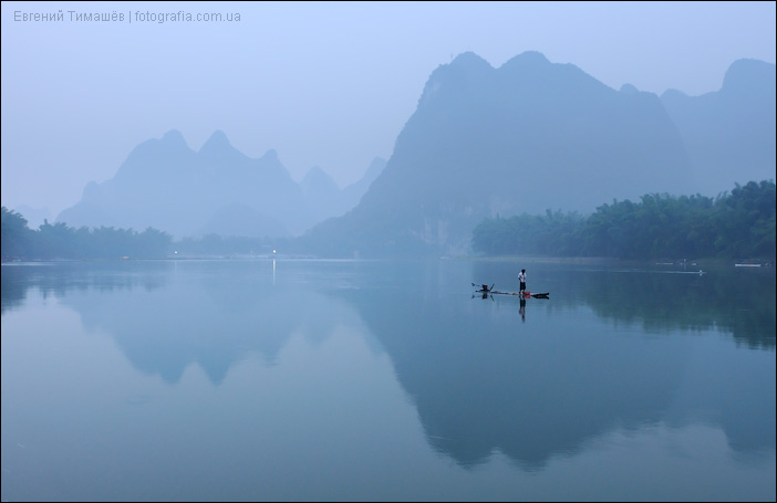 Яншо, река Ли, Ксинпинг, Гуйлинь, Китай