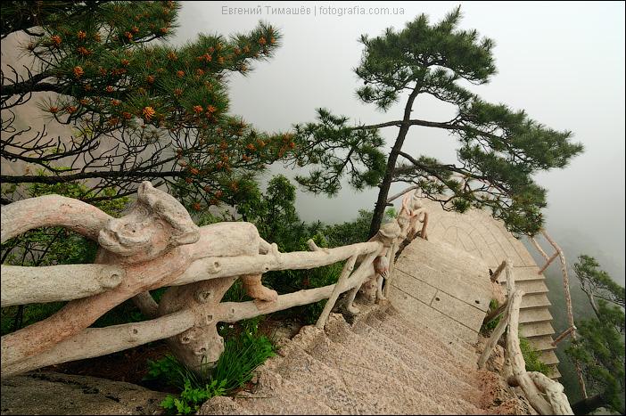 Китай, Хуаньшань, каньон West Sea