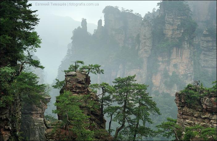 Китай, найиональный парк Джанджаджие