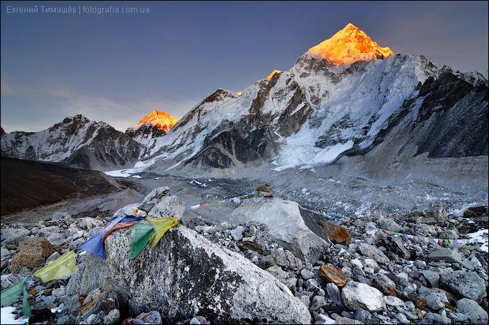 Непал, Гималаи, вид из поселка Горак-Шеп