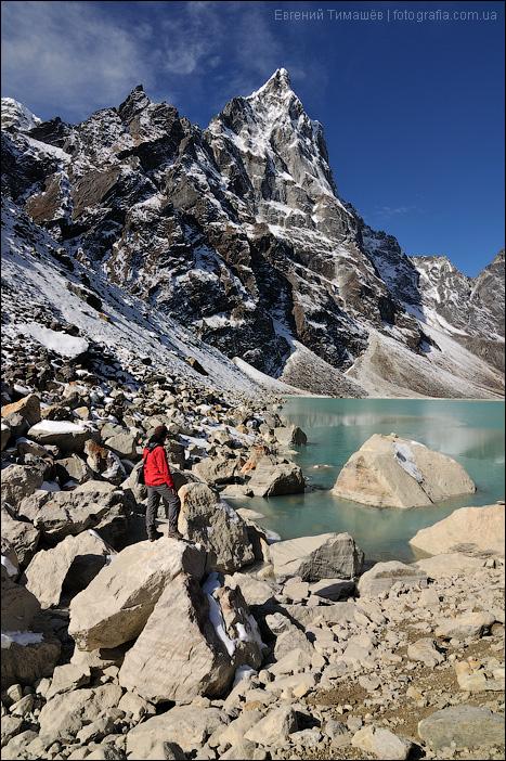 Озеро Chola Tsho, Непал, Гималаи