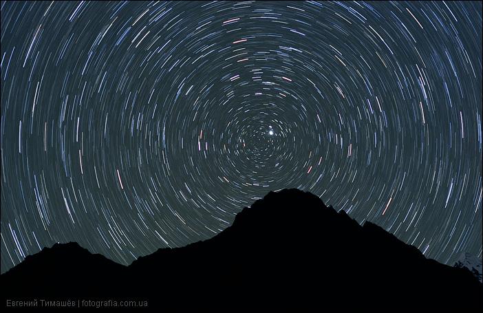 Трассы звезд над гималайской вершиной, Непал