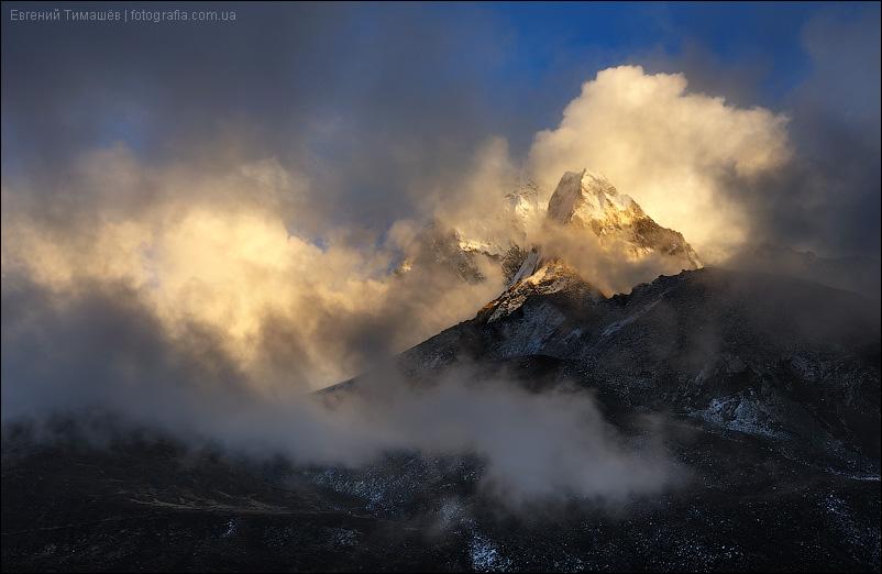 Непал, Гималаи, гора Ама-Даблам