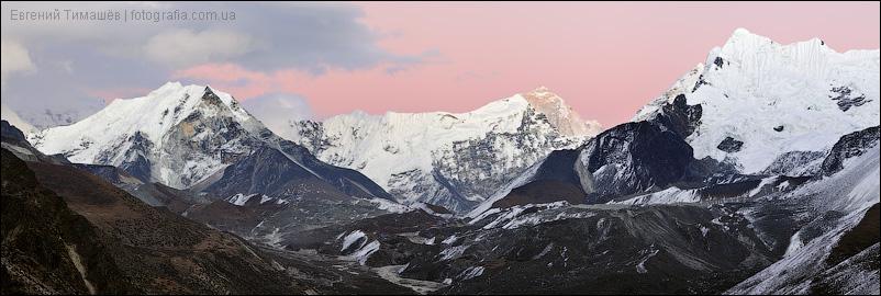 Гималаи, Непал, панорама