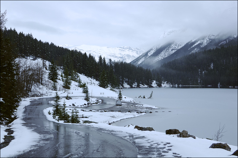 Снежный Банфф (Banff), Канада