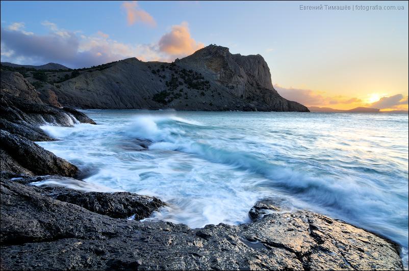 Восход солнца в Новом свете, Крым