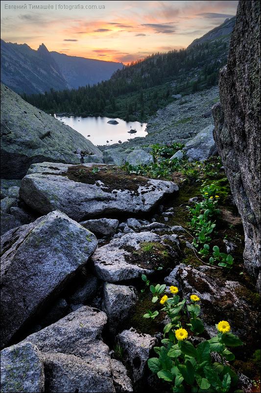 Ергаки, озеро Художников