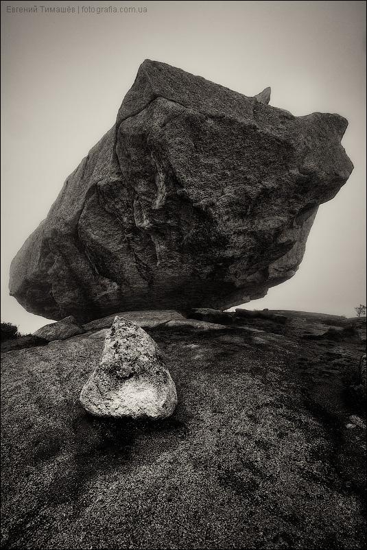 Красноярский край, Ергаки. Висячий камень. К нему мы поднялись в