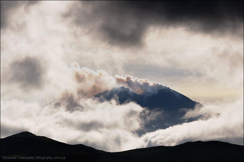 Вулкан Безымянный, Камчатка