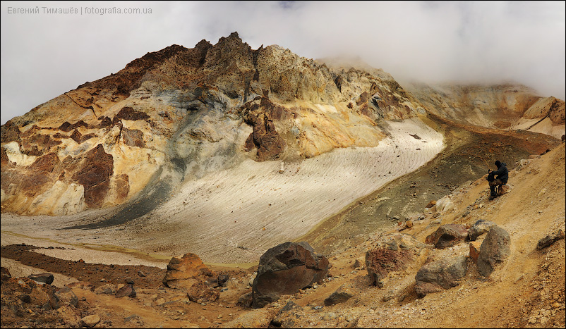 Камчатка, Мутновский вулкан