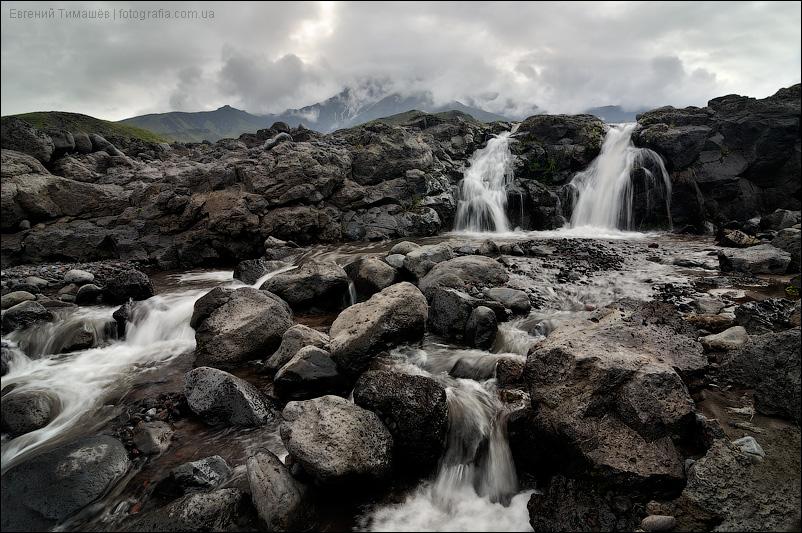 Камчатка, водопад