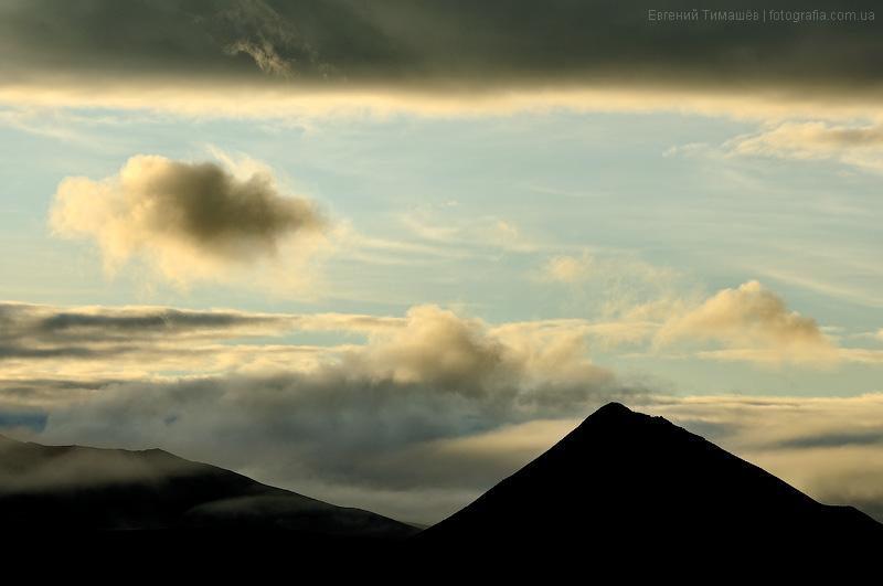Камчатка, гора Горный зуб
