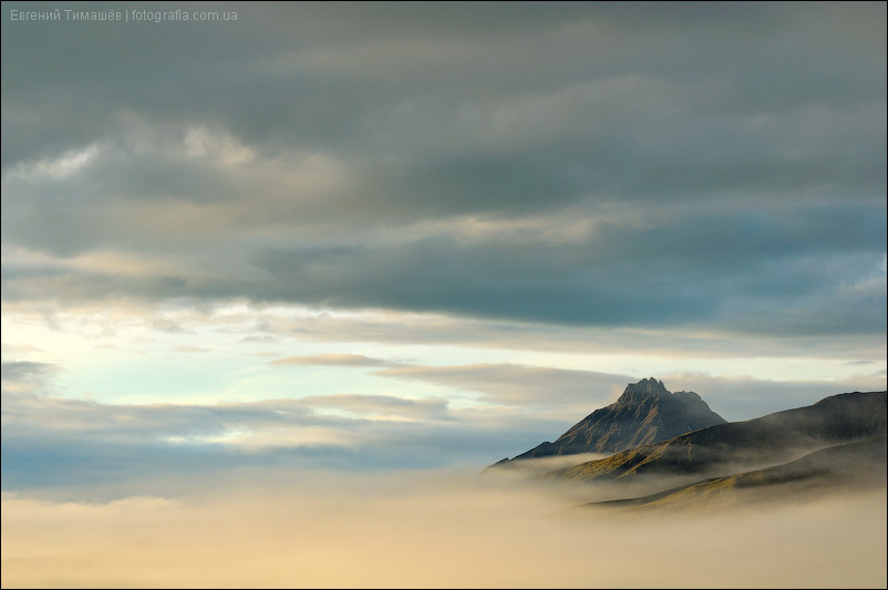 Камчатка, вершина вулкана Малая Удина (1945 м)