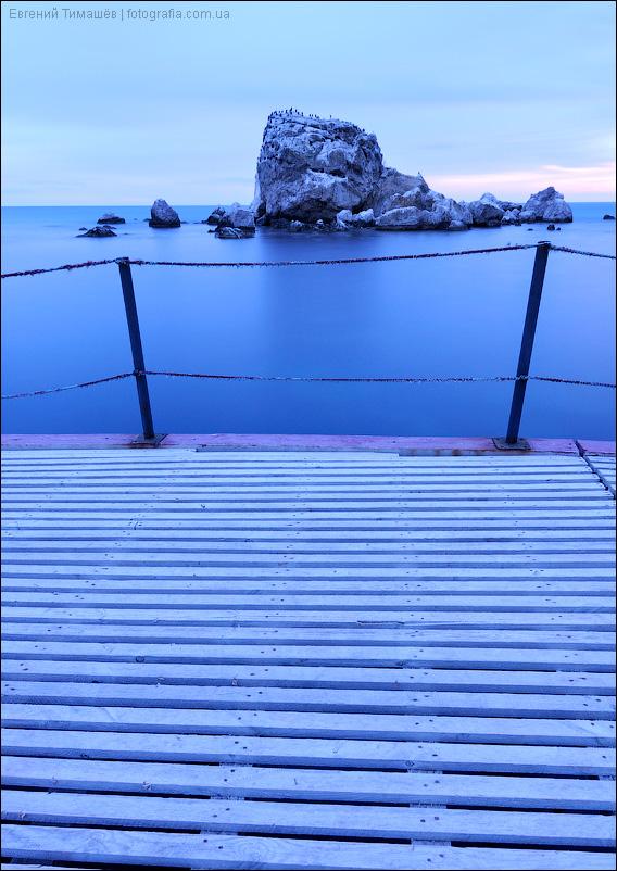 Крым, Судак, море, пирс