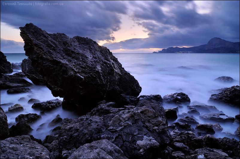 Крым, Судак, Алчак, море