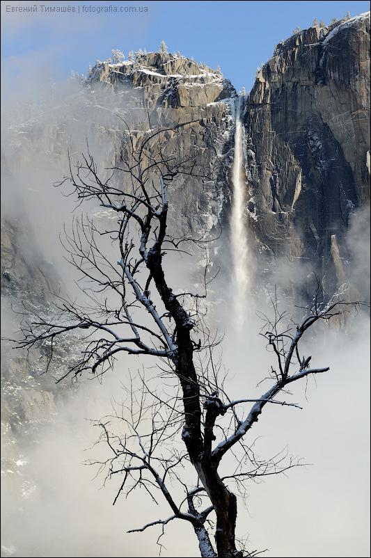 Водопад Йосемити (Yosemite Fall)