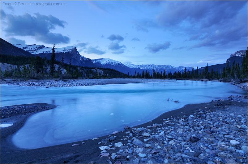 Река Северный Саскачеван (North Saskatchewan River)