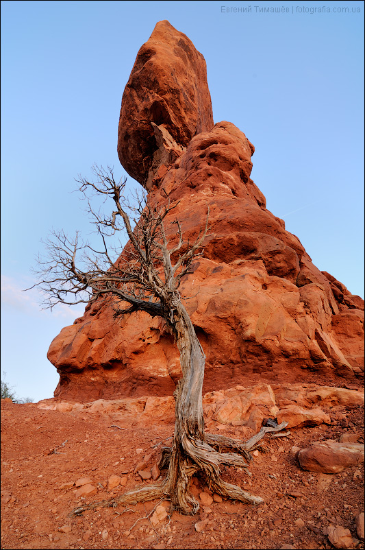 США, национальный парк Арчес, Балансирующая скала