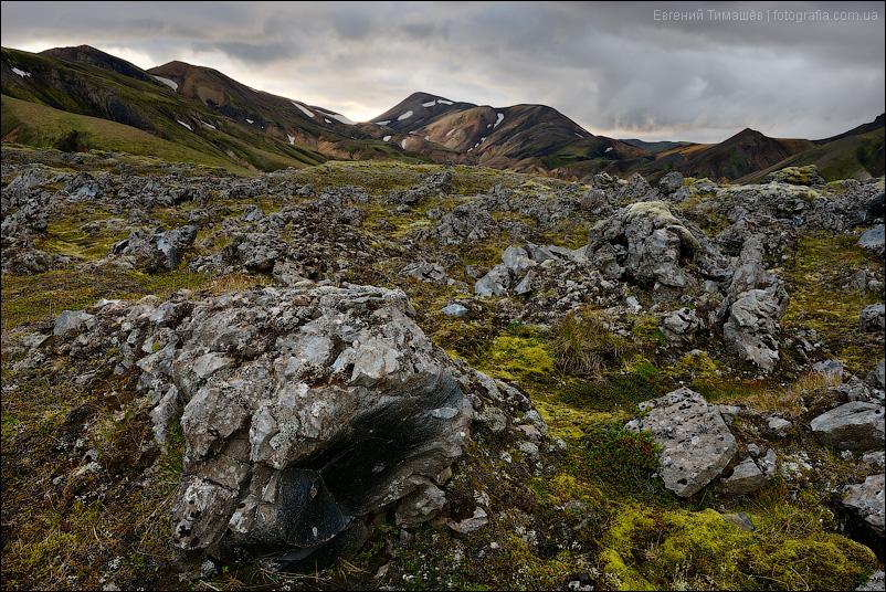 Исландия, Ландманналаугар (Landmannalaugar)