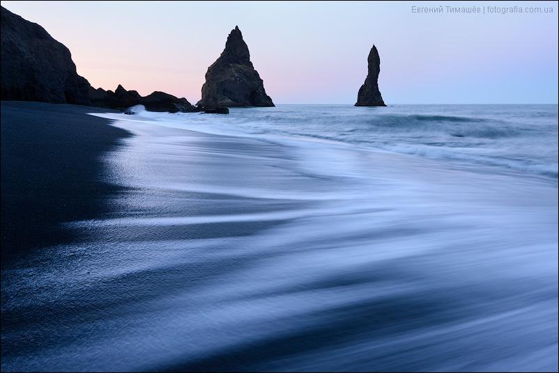 Исландия, пляж около города Вик