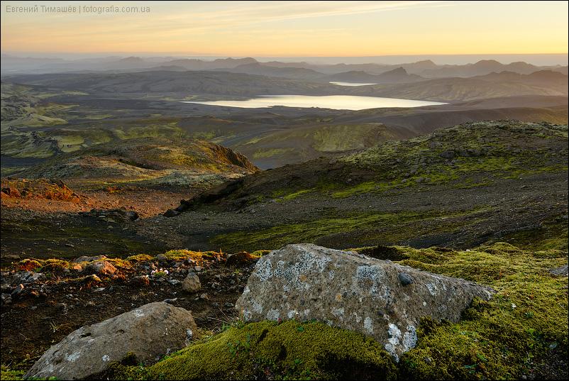 Исландия, озеро Лаки (Laki)