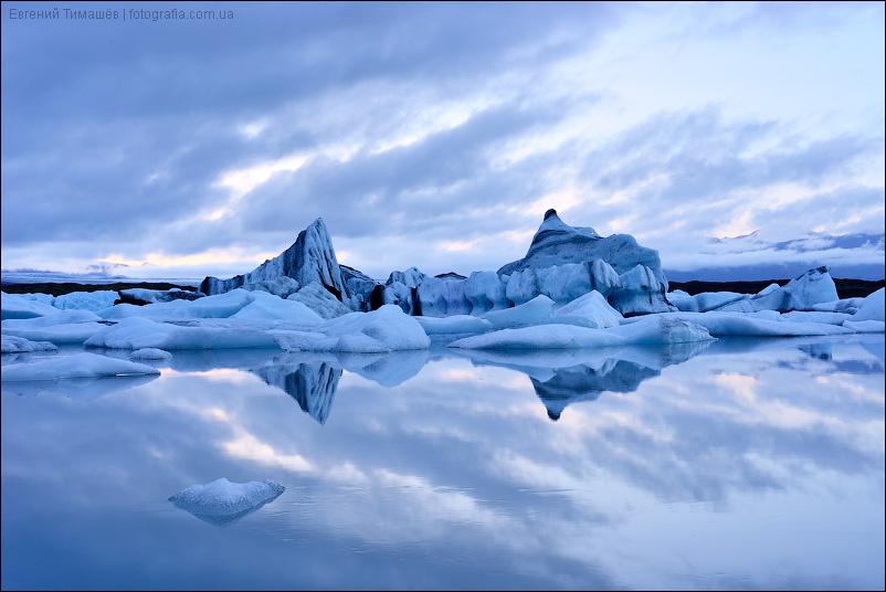 Исландия, лагуна Йокульсарлон (Jokulsarlon)