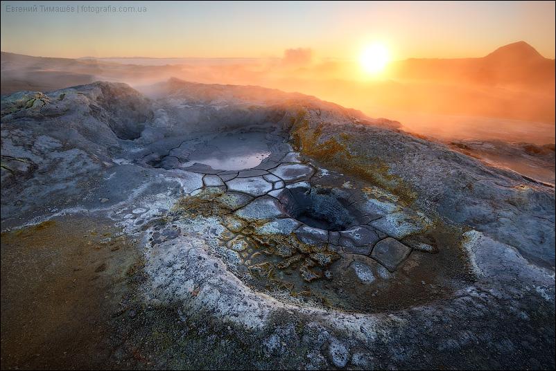 Исландия, геотермальная зона Намафьял (Namafjall)